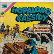 Tebeos: HOPALONG CASSIDY - AÑO XIX - Nº 218 - ENERO 1º DE 1973 **EDITORIAL NOVARO**. Lote 243547655