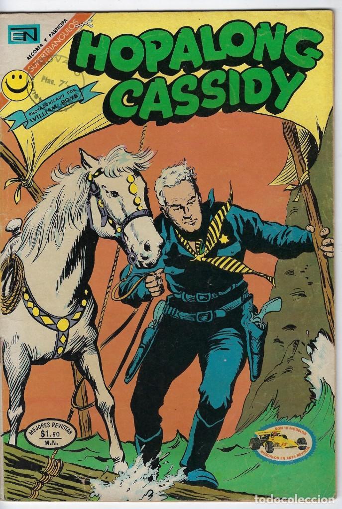 HOPALONG CASSIDY - AÑO XVIII - Nº 209 - ABRIL 24 DE 1972 **EDITORIAL NOVARO** (Tebeos y Comics - Novaro - Hopalong Cassidy)