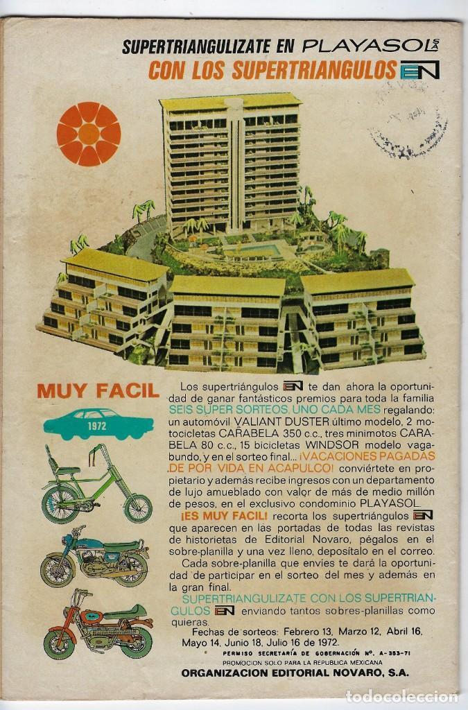 Tebeos: HOPALONG CASSIDY - AÑO XVIII - Nº 209 - ABRIL 24 DE 1972 **EDITORIAL NOVARO** - Foto 2 - 243547985