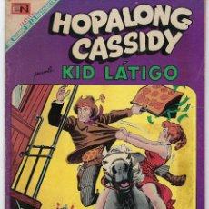 BDs: HOPALONG CASSIDY - AÑO XVI - Nº 176 - AGOSTO 1º DE 1969 **EDITORIAL NOVARO**. Lote 243548965