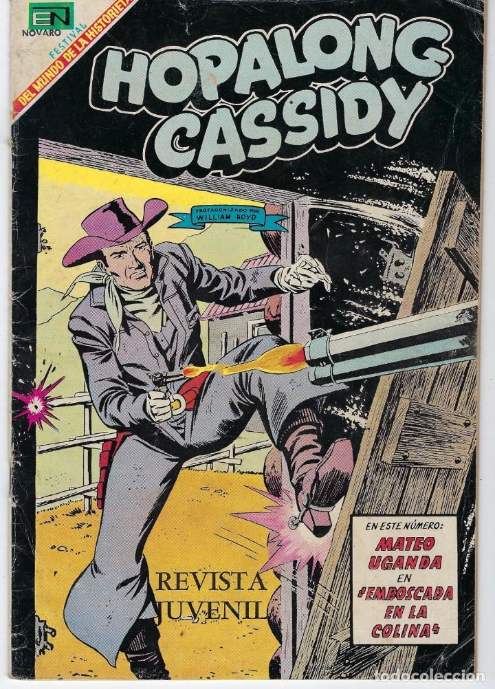 HOPALONG CASSIDY - AÑO XV - Nº 170 - FEBRERO 1º DE 1969 **EDITORIAL NOVARO** (Tebeos y Comics - Novaro - Hopalong Cassidy)