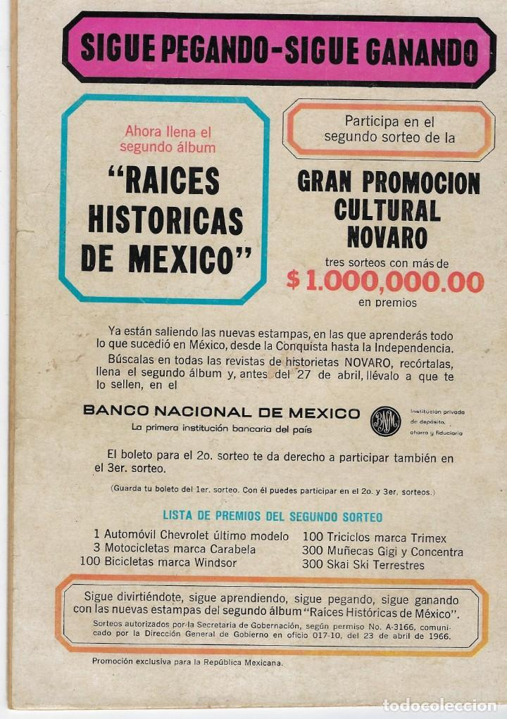 Tebeos: HOPALONG CASSIDY - AÑO XIII - Nº 149 - MAYO 1º DE 1967 **EDITORIAL NOVARO** - Foto 2 - 243549615