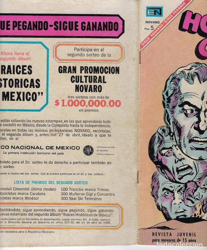 Tebeos: HOPALONG CASSIDY - AÑO XIII - Nº 149 - MAYO 1º DE 1967 **EDITORIAL NOVARO** - Foto 3 - 243549615