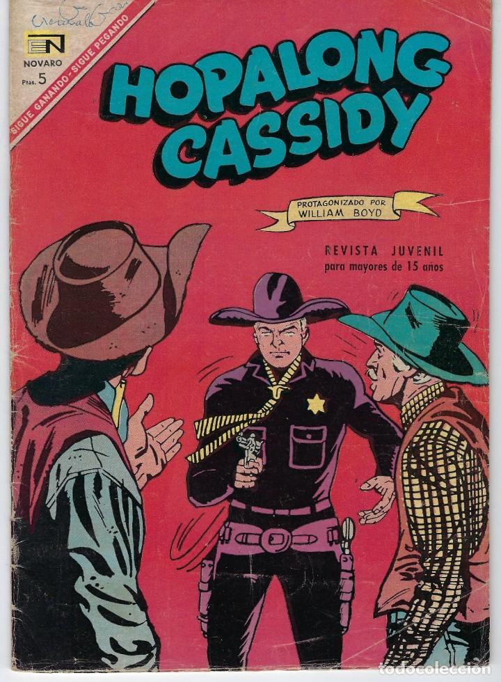 HOPALONG CASSIDY - AÑO XIII - Nº 147 - MARZO 1º DE 1967 **EDITORIAL NOVARO** (Tebeos y Comics - Novaro - Hopalong Cassidy)