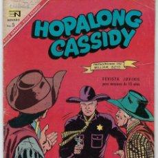Tebeos: HOPALONG CASSIDY - AÑO XIII - Nº 147 - MARZO 1º DE 1967 **EDITORIAL NOVARO**. Lote 243549925