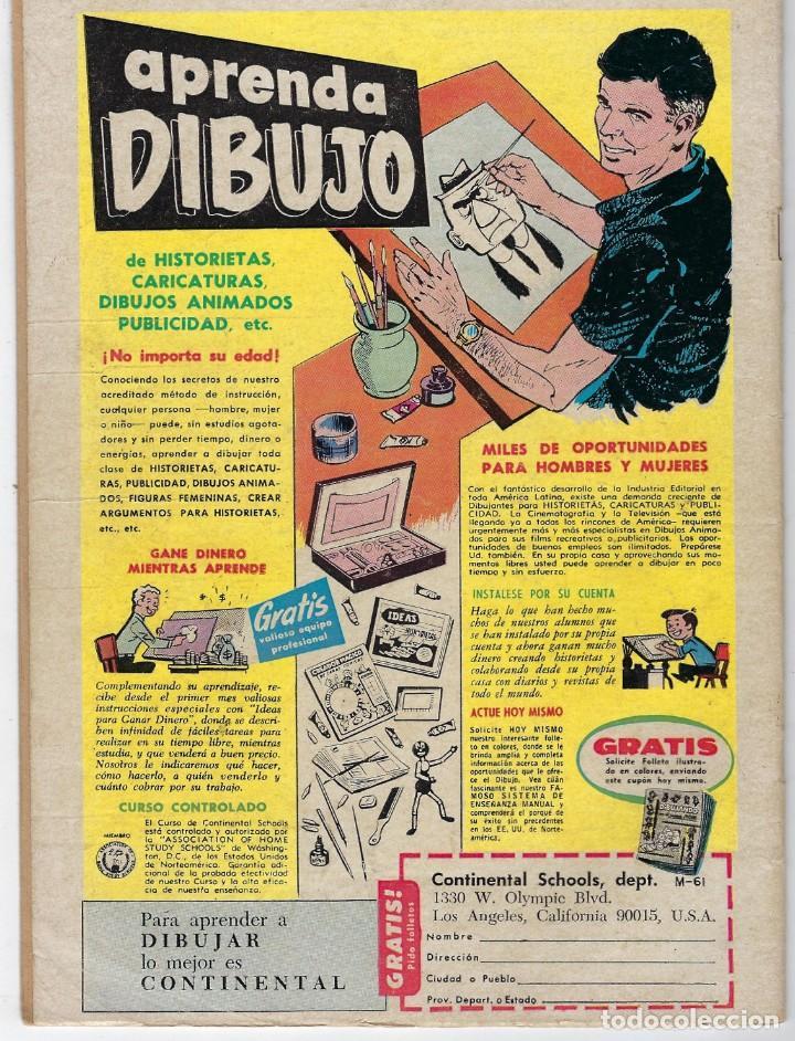 Tebeos: HOPALONG CASSIDY - AÑO XIII - Nº 147 - MARZO 1º DE 1967 **EDITORIAL NOVARO** - Foto 2 - 243549925