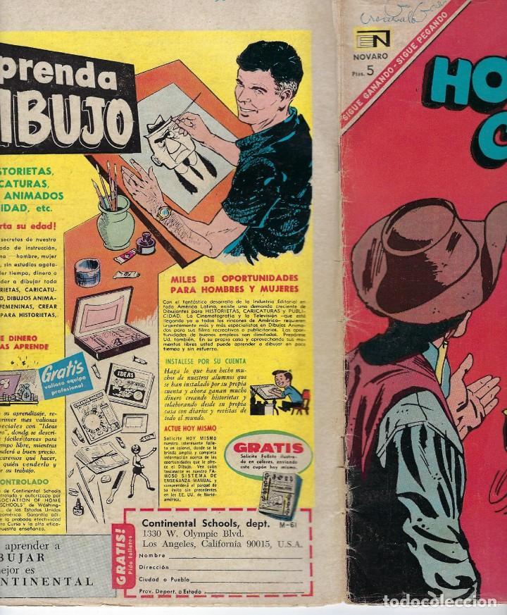 Tebeos: HOPALONG CASSIDY - AÑO XIII - Nº 147 - MARZO 1º DE 1967 **EDITORIAL NOVARO** - Foto 3 - 243549925