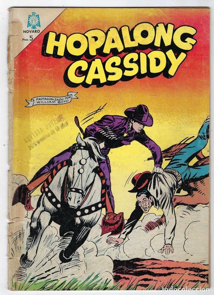HOPALONG CASSIDY - AÑO XI - Nº 116 - AGOSTO 1º DE 1964 **EDITORIAL NOVARO** (Tebeos y Comics - Novaro - Hopalong Cassidy)