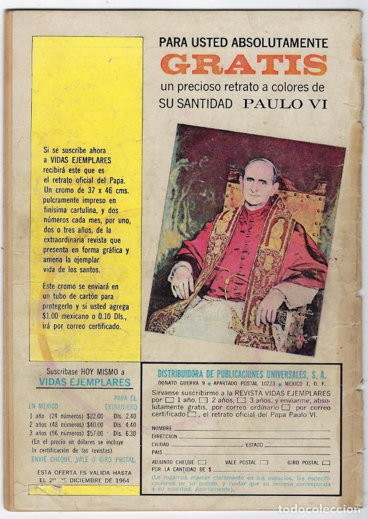 Tebeos: HOPALONG CASSIDY - AÑO XI - Nº 116 - AGOSTO 1º DE 1964 **EDITORIAL NOVARO** - Foto 2 - 243550470