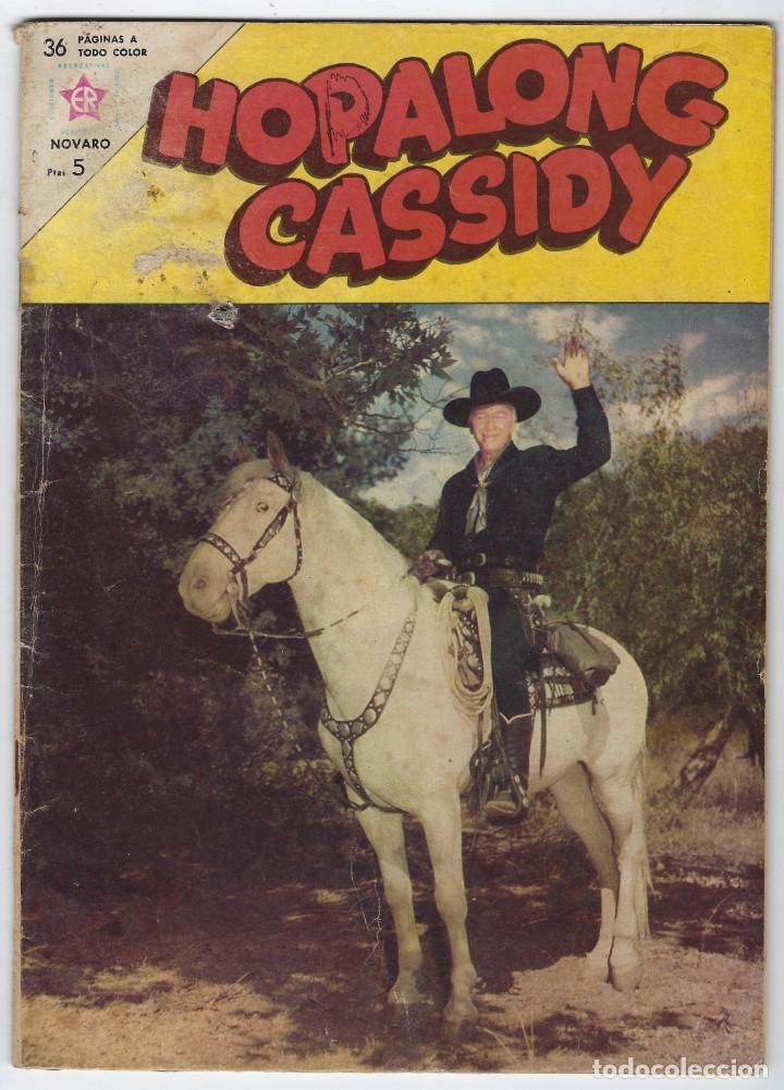 HOPALONG CASSIDY - AÑO X - Nº 105 - SEPTIEMBRE 1º DE 1963 **EDITORIAL NOVARO** (Tebeos y Comics - Novaro - Hopalong Cassidy)