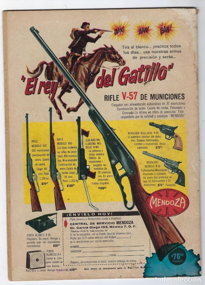 Tebeos: HOPALONG CASSIDY - AÑO X - Nº 105 - SEPTIEMBRE 1º DE 1963 **EDITORIAL NOVARO** - Foto 2 - 243551885