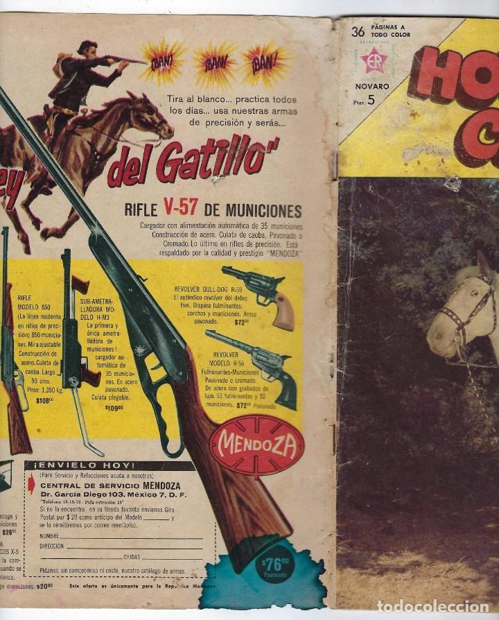 Tebeos: HOPALONG CASSIDY - AÑO X - Nº 105 - SEPTIEMBRE 1º DE 1963 **EDITORIAL NOVARO** - Foto 4 - 243551885