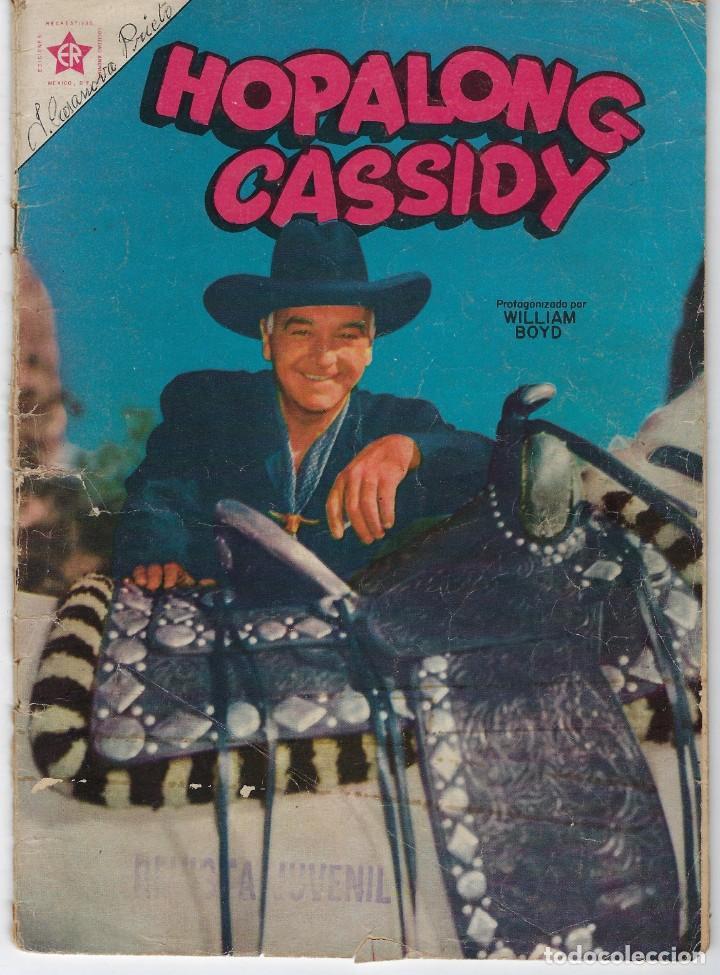 HOPALONG CASSIDY - AÑO II - Nº 24 - MAYO 1º DE 1956 **EDITORIAL NOVARO** (Tebeos y Comics - Novaro - Hopalong Cassidy)