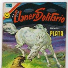 Tebeos: EL LLANERO SOLITARIO PRESENTA: PLATA - AÑO XX - Nº 274 - OCTUBRE 3 DE 1972 ** EDITORIAL NOVARO **. Lote 243563705