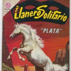 Tebeos: EL LLANERO SOLITARIO PRESENTA: PLATA - AÑO XII - Nº 133 - ABRIL 1º DE 1964 ** EDITORIAL NOVARO **. Lote 243567115
