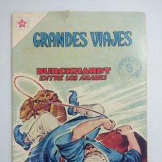 Tebeos: GRANDES VIAJES /BURCKHARDT ENTRE LOS ARABES Nº 6 EDICIONES RECREATIVAS NOVARO.. Lote 243866570