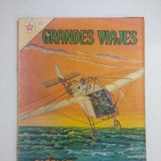 Livros de Banda Desenhada: GRANDES VIAJES /BLERIOT SOBRE EL CANAL DE LA MANCHA Nº 2 EDICIONES RECREATIVAS NOVARO.. Lote 243876840