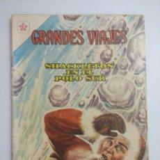 Tebeos: GRANDES VIAJES /SHACKLETON EN EL POLO SUR Nº 1 EDICIONES RECREATIVAS NOVARO.. Lote 243878105
