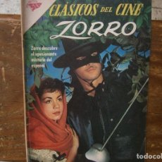 Livros de Banda Desenhada: ZORRO CLASICOS DEL CINE # 53 SEA NOVARO MEXICO 1961. Lote 243890755