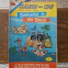 Livros de Banda Desenhada: CLASICOS DEL CINE # 285 TRAVESURAS DE UNA BRUJA EDITORIAL NOVARO MEXICO 1973. Lote 243895520