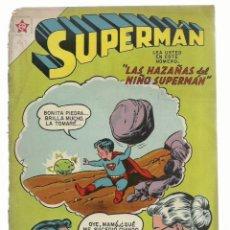 Tebeos: SUPERMAN 143, 1958, NOVARO. Lote 243924305