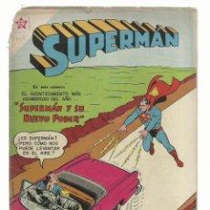 Tebeos: SUPERMAN 145, 1958, NOVARO. Lote 243924575