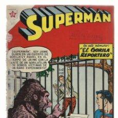 Tebeos: SUPERMAN 161, 1958, NOVARO, ENCUADERNACIÓN. Lote 243924675