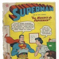 Tebeos: SUPERMAN 162, 1958, NOVARO, ENCUADERNACIÓN. Lote 243925010