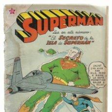 Tebeos: SUPERMAN 158, 1958, NOVARO, ENCUADERNACIÓN. Lote 243926060