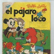 Tebeos: EL PÁJARO LOCO 108, 1957, NOVARO. COLECIÓN A.T.. Lote 243927565
