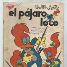 Tebeos: EL PÁJARO LOCO 129, 1958, NOVARO. COLECCIÓN A.T.. Lote 243927700