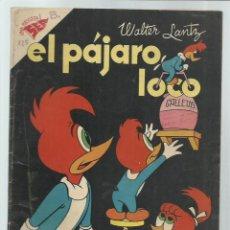 Tebeos: EL PÁJARO LOCO 125, 1957, NOVARO. COLECCIÓN A.T.. Lote 243927825