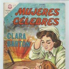 Tebeos: MUJERES CELEBRES 44: CLARA BARTON, 1964, NOVARO, BUEN ESTADO. COLECIÓN A.T.. Lote 243927900