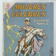 Tebeos: MUJERES CÉLEBRES 42: EUGENIA DE MONTIJO, 1964, NOVARO, BUEN ESTADO. COLECIÓN A.T.. Lote 243945605