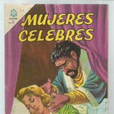 Tebeos: MUJERES CÉLEBRES 41:ADRIANA LECOUVREUR, 1964, NOVARO, BUEN ESTADO. COLECIÓN A.T.. Lote 243945700