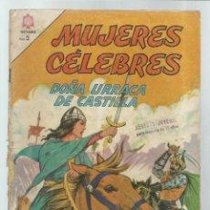 Tebeos: MUJERES CÉLEBRES 40: DOÑA URRACA DE CASTILLA, 1964, NOVARO, USADO. COLECIÓN A.T.. Lote 243945880