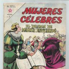 Tebeos: MUJERES CÉLEBRES 32: EL DRAMA DE MARÍA ESTUARDO, 1964, NOVARO. COLECIÓN A.T.. Lote 243946755