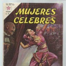 Tebeos: MUJERES CÉLEBRES 29: MATA HARI, 1963, NOVARO, BUEN ESTADO. COLECIÓN A.T.. Lote 243955225