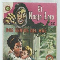 Tebeos: EL MONJE LOCO 42: DOS GENIOS DEL MAL (2ª PARTE), 1968, EDITORIAL TEMPORAE. COLECCIÓN A.T.. Lote 243955585