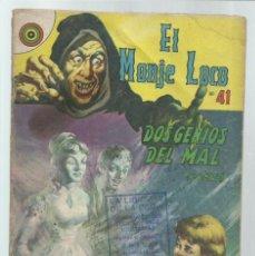Tebeos: EL MONJE LOCO 41: DOS GENIOS DEL MAL (1ª PARTE), 1968, EDITORIAL TEMPORAE. COLECCIÓN A.T.. Lote 243955760