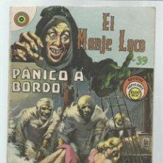 Tebeos: EL MONJE LOCO 39: PÁNICO A BORDO, 1968, EDITORIAL TEMPORAE. COLECCIÓN A.T.. Lote 243956080
