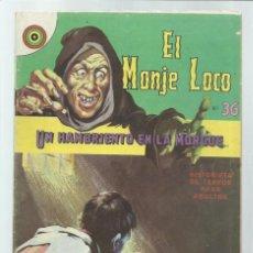 Tebeos: EL MONJE LOCO 36: UN HAMBRIENTO EN LA MORGUE, 1968, EDITORIAL TEMPORAE, BUEN ESTADO. COLECCIÓN A.T.. Lote 243956520