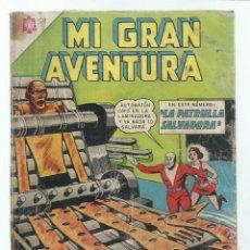 Tebeos: MI GRAN AVENTURA 59: LA PATRULLA SALVADORA, 1965, NOVARO. COLECCIÓN A.T.. Lote 243957900