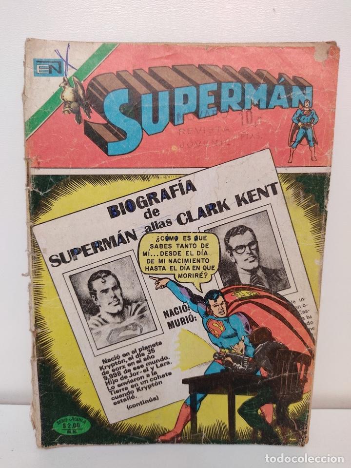 SUPERMAN NUMERO 1013 - 1975 - NOVARO (Tebeos y Comics - Novaro - Superman)