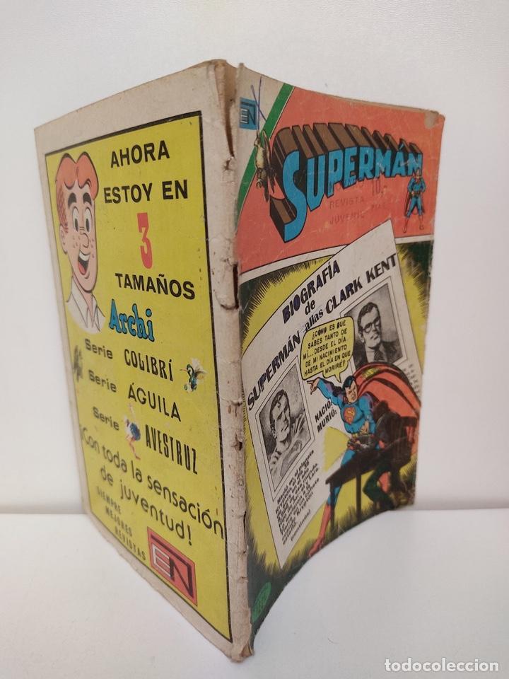 Tebeos: SUPERMAN NUMERO 1013 - 1975 - NOVARO - Foto 3 - 244474270