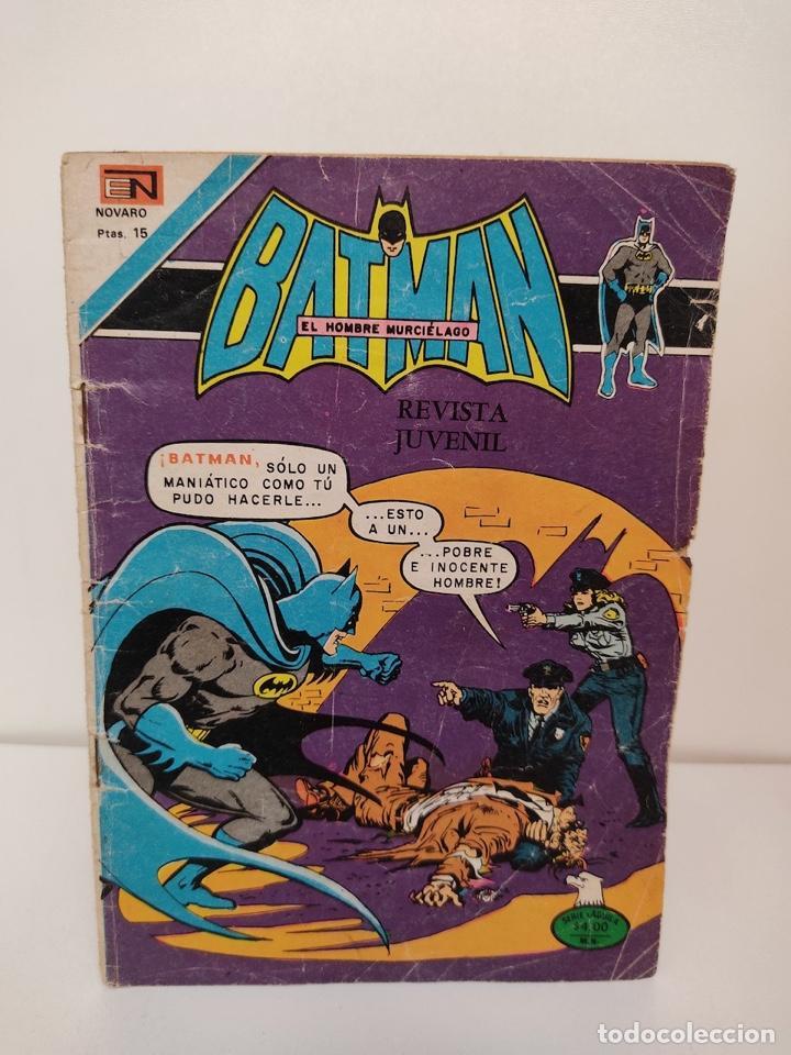 BATMAN, SERIE AGUILA, AÑO XXII NUMERO 875 (Tebeos y Comics - Novaro - Superman)