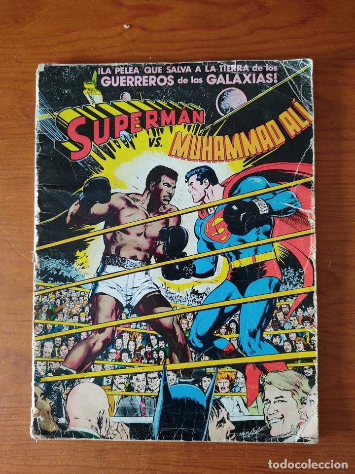 NOVARO SUPERMAN VS. MUHAMMAD ALÍ - 1ª PRIMERA EDICIÓN 1978. GRAN TAMAÑO (Tebeos y Comics - Novaro - Superman)
