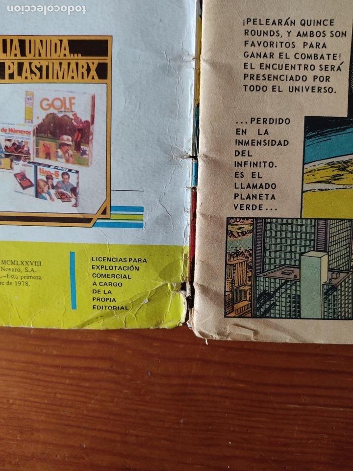 Tebeos: NOVARO SUPERMAN VS. MUHAMMAD ALÍ - 1ª PRIMERA EDICIÓN 1978. GRAN TAMAÑO - Foto 7 - 244499180