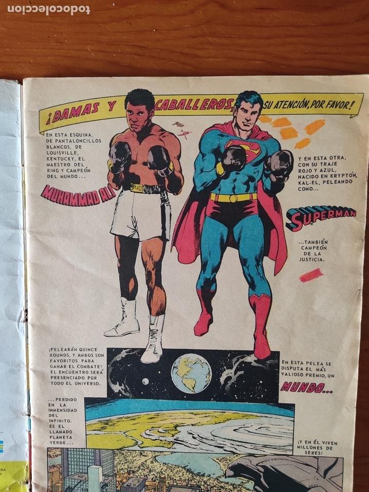 Tebeos: NOVARO SUPERMAN VS. MUHAMMAD ALÍ - 1ª PRIMERA EDICIÓN 1978. GRAN TAMAÑO - Foto 2 - 244499180