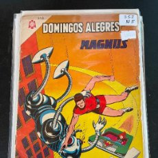 Livros de Banda Desenhada: NOVARO DOMINGOS ALEGRES NUMERO 552 NORMAL ESTADO. Lote 244553450